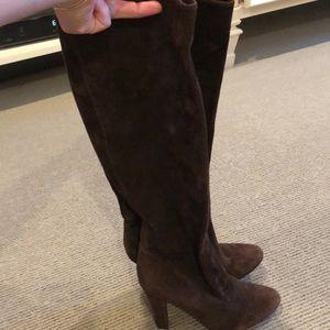 Jimmy Choo brown heel boot